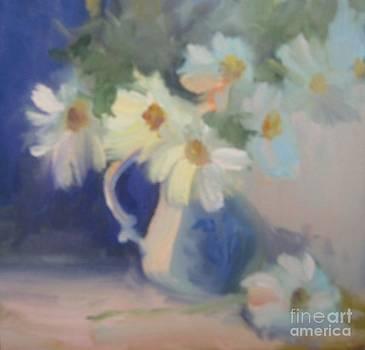Daisies Still Life by Suzanne Elliott