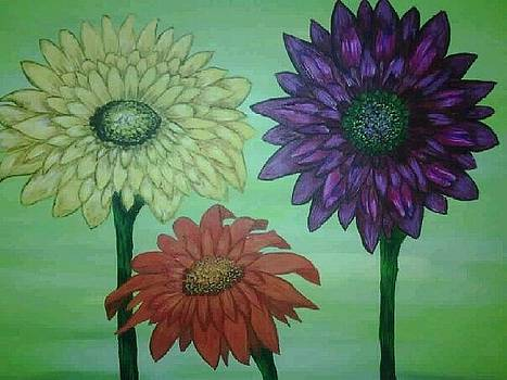 Daisies by Valorie Cross