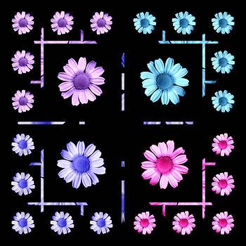 Bishopston Fine Art - Daisy Floral Pattern