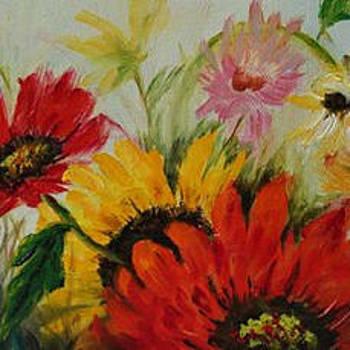 Daisy Garden by Elaine Bailey