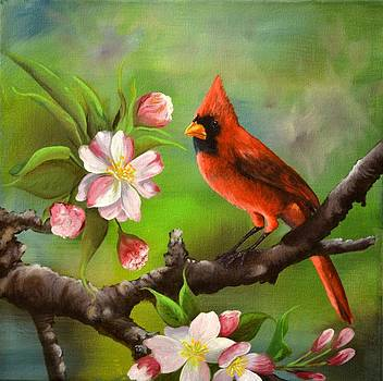 Scarlet Spring by Sherry Cullison