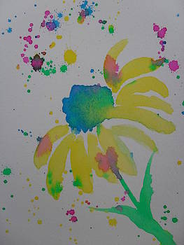 Daisy Splatter by Ginny Youngblood
