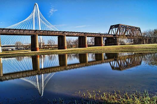 Dallas Bridges Old and New by Kathy Churchman