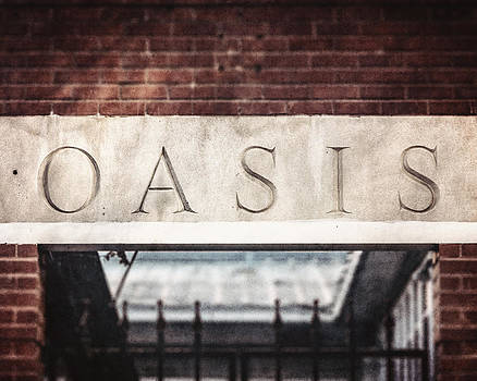 Lisa Russo - Dallas Texas Oasis Sign