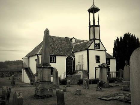 Dalserf Church and Graveyard Scotland by Bill Lighterness