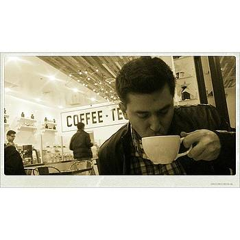 Damian At Byun #coffee by Zarah Delrosario