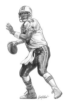 Dan Marino QB by Harry West