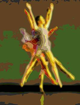 Mary Clanahan - Dance Cutout Portrait Art