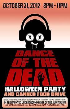 Jeff Danos - Dance of the Dead Poster 2012