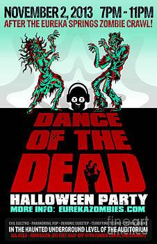 Jeff Danos and Kiko Garcia - Dance of the Dead Poster 2013