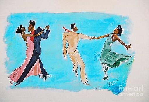 Dance Series 4of8 Lindy Hop2 by JackieO Kelley