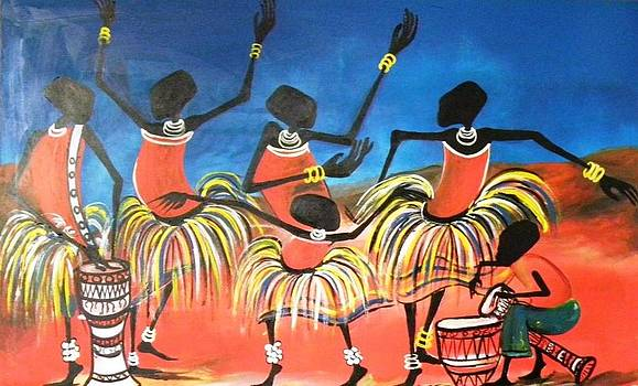 Dance Troupe by Muwumba
