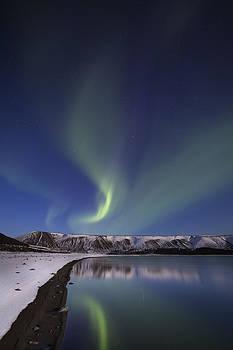 Danceing lights by Arnar B Gudjonsson