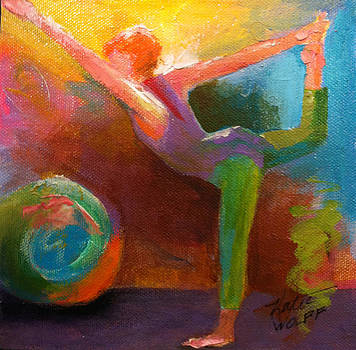 Dancer Pose by Katie Wolff