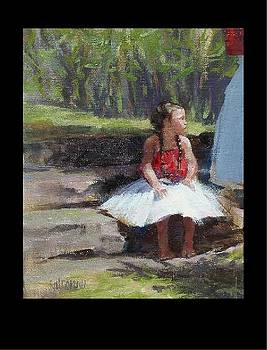 Dancer waiting by Rod Cameron