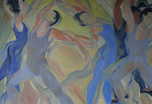 Dancers  23 by Caron Sloan Zuger