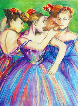 Dancers by Melanie Alcantara Correia