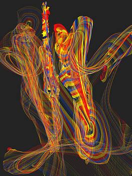 Dancers by Saina Art
