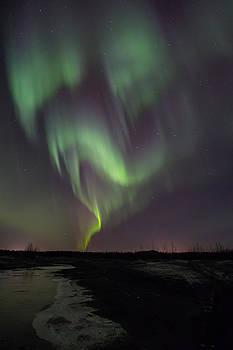Dancing Alaska Northern Lights by Sam Amato