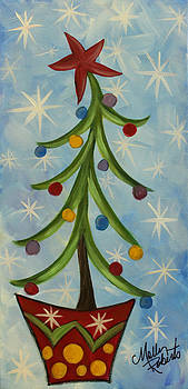 Dancing Christmas Tree by Molly Roberts