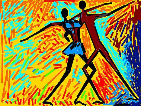 Anand Swaroop Manchiraju - DANCING COUPLE