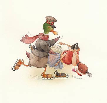 Kestutis Kasparavicius - Dancing Ducks 03