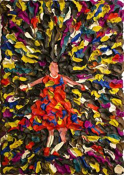 Dancing girl by Marat Zakirov