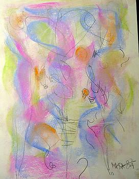 Dancing Hearts  by Carol MASSA
