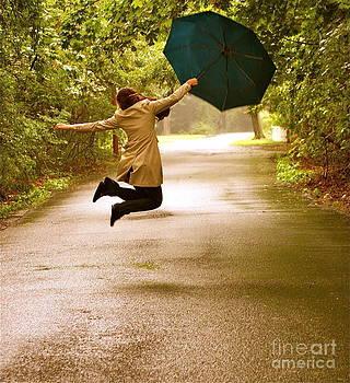 Dancing in the Rain by Susan Elise Shiebler