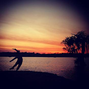 Dancing in the Sunset by Caitlyn Stykowski