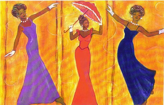 Dancing Ladies by Carole Joyce
