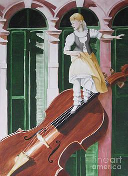 Dancing on Strings by Parrish Hirasaki