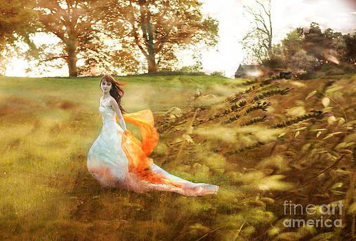 Angel  Tarantella - dancing on the meadow