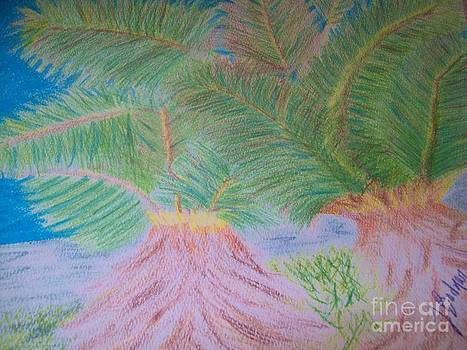 Dancing Palms by Jackie Bodnar