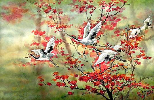 Dancing through the Branches by Eileen  Fong