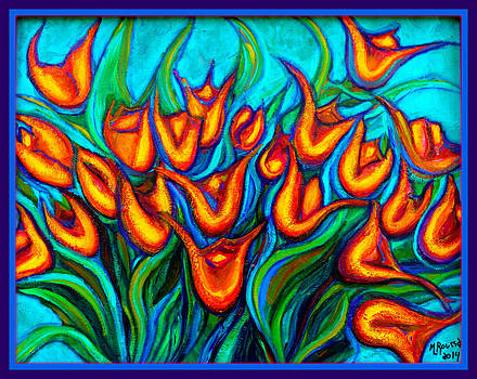 Dancing Tulips by MarvL Roussan