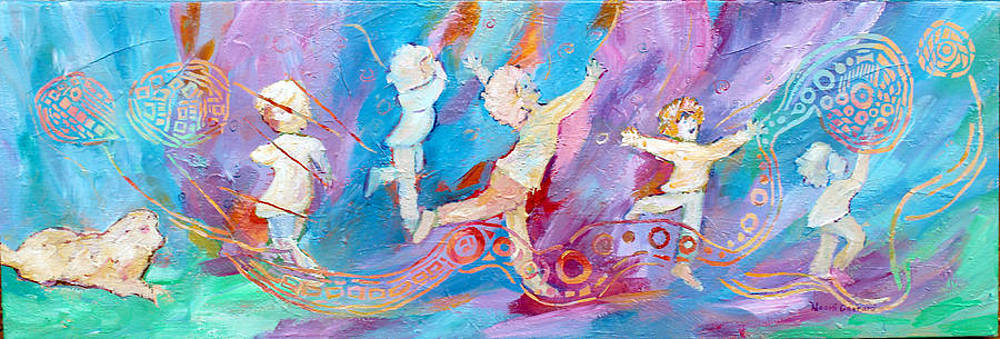 Dancing With Colour by Naomi Gerrard