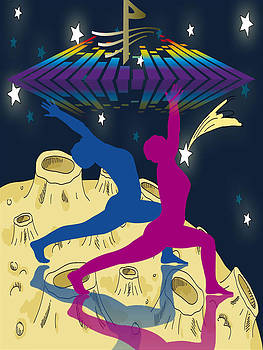 Dancing With The Stars by Museum Quality Prints -  Trademark Art Designs