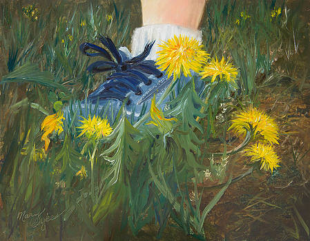 Dandelion Dance by Mary Beglau Wykes