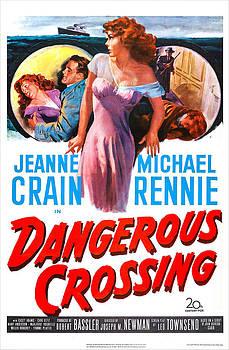 Dangerous Crossing, Us Poster, Jeanne by Everett