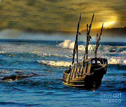 Dangerous waters by Blair Stuart