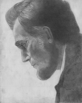 Daniel Day Lewis as Abraham Lincoln by Glenn Daniels