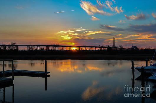 Dale Powell - Daniel Island Marina Sunset