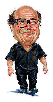 Danny DeVito by Art