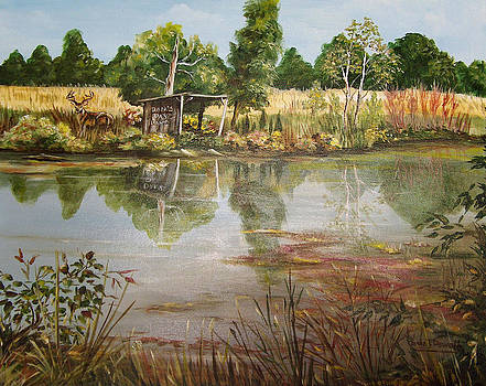 Dan's Pay Lake by Carole Powell