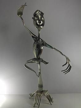 Danseuse Etoile by Dalu sculpteur Anticonformiste
