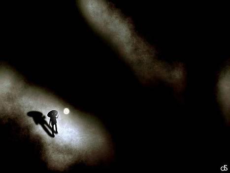 Dark Canyon 1 by Daniel Sallee