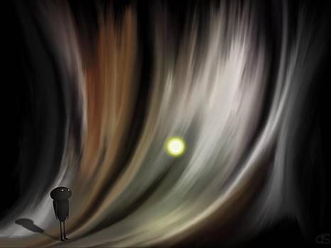 Dark Canyon 2 by Daniel Sallee