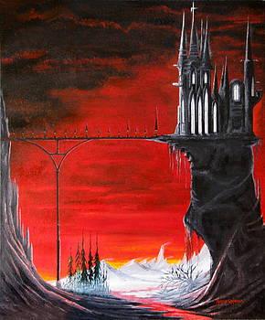 Dark Castle number one by Robert Crooker