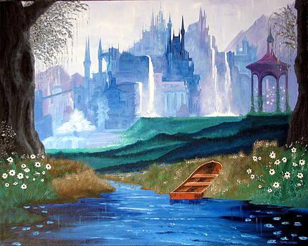 Dark Castle number three by Robert Crooker